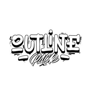 Outline Pack Cover Lettering