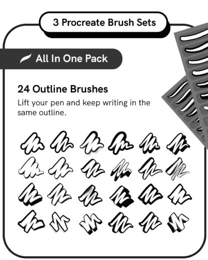 Procreate Brush Set: All In One Pack