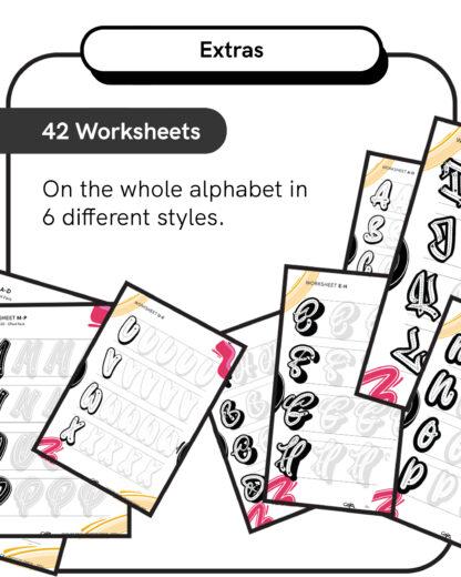Outline Pack: 42 Worksheets
