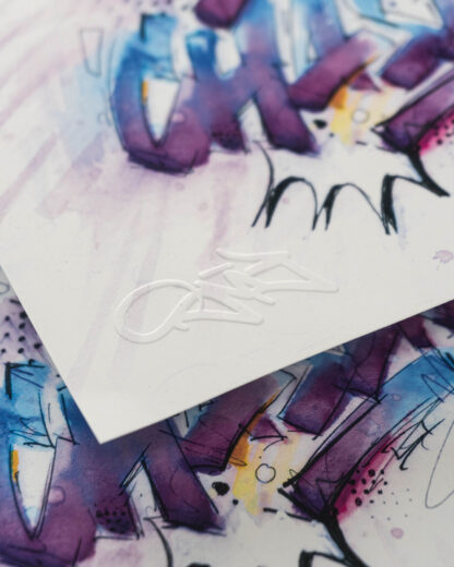 "Closeup - Digital Art print I got a dream that I am chasing"""