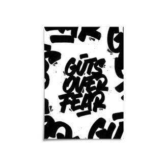 "Cover, Digital Art print ""Guts over fear"""