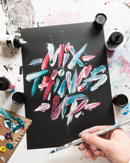 Mix it up - Original Artwork