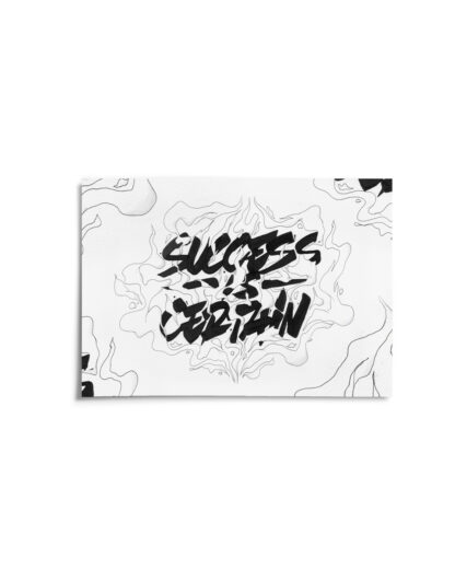 "Cover - Digital Art print ""Success is certain"""