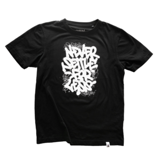 """Thumbnail -Handprinted, Limited Edtion T-Shirt """"Never Settle For Less"""" 2021"""